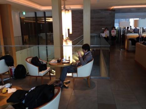 JAL Sakura Lounge Tokyo NRT81
