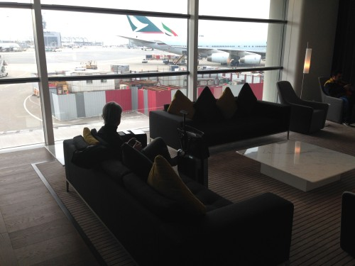 The Bridge Lounge Cathay Pacific HKG Hong Kong Trip Report03