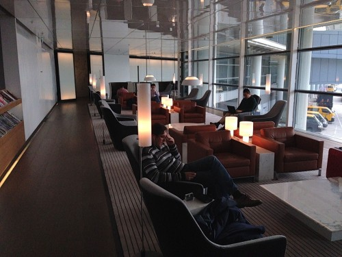 The Bridge Lounge Cathay Pacific HKG Hong Kong Trip Report23