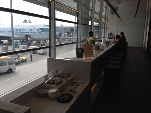 The Bridge Lounge Cathay Pacific HKG Hong Kong Trip Report39
