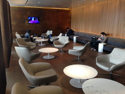 The Bridge Lounge Cathay Pacific HKG Hong Kong Trip Report40