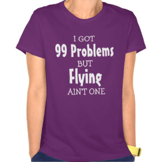 99 Probs Flying Aint One