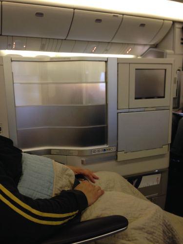 British Airways Flight Review 747-400 Club World18