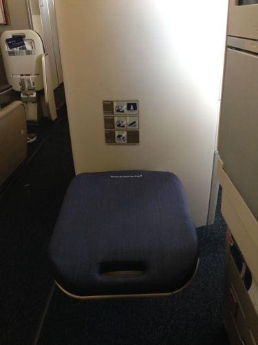 British Airways Flight Review 747-400 Club World24