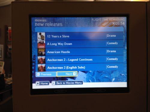 British Airways Flight Review 747-400 Club World33