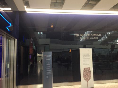 British Airways Galleries Club Lounge LHR Terminal 5A02