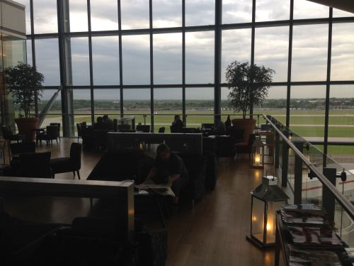 British Airways Galleries Club Lounge LHR Terminal 5A04