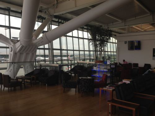 British Airways Galleries Club Lounge LHR Terminal 5A06