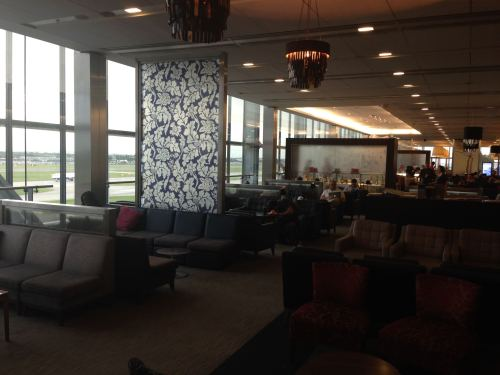 British Airways Galleries Club Lounge LHR Terminal 5A27