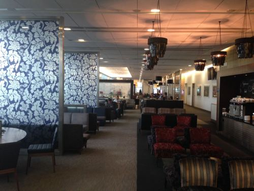 British Airways Galleries Club Lounge LHR Terminal 5A33
