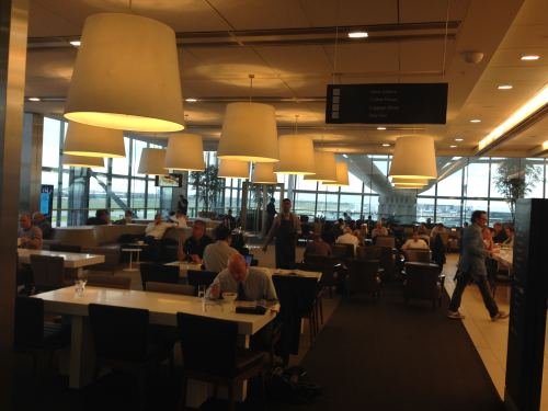 British Airways Galleries Club Lounge LHR Terminal 5A43