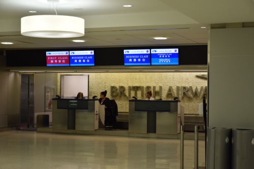 JFK Terminal 7 Cathay Pacific Check-In