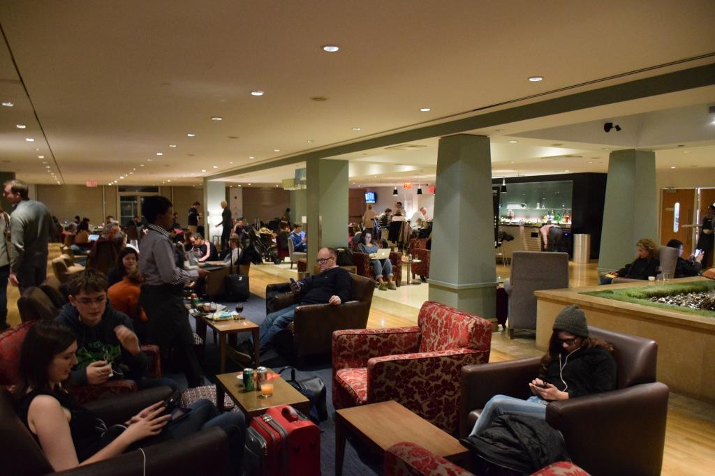 British Airways Galleries Lounge at JFK