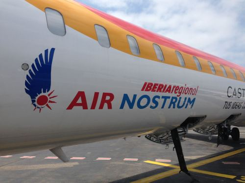 Iberia Air Nostrum NCE-MAD CRJ 100009