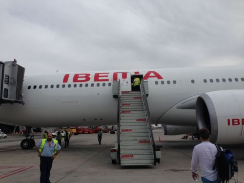 Iberia Flight Review A330-300 Business Class02