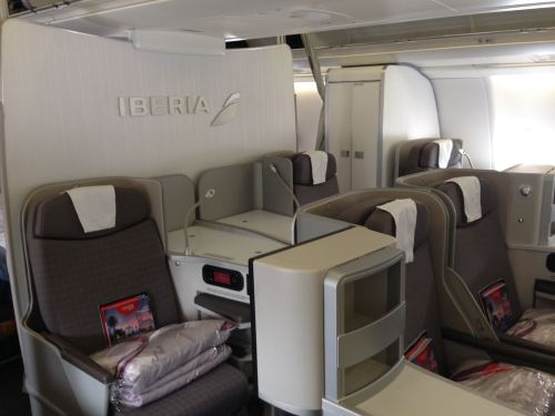 Iberia Flight Review A330-300 Business Class09