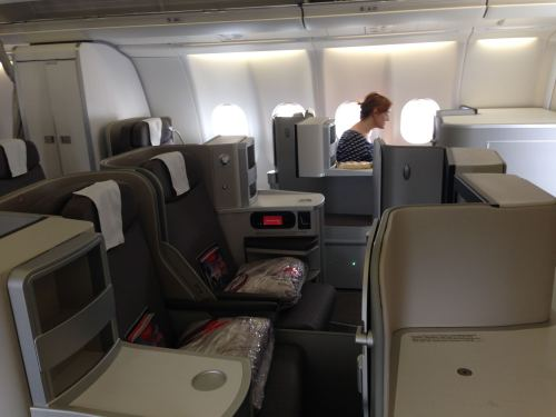Iberia Flight Review A330-300 Business Class10