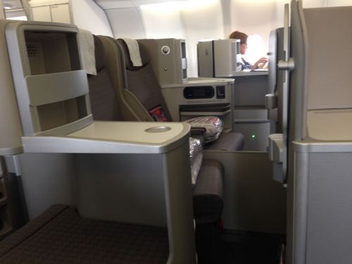Iberia Flight Review A330-300 Business Class25