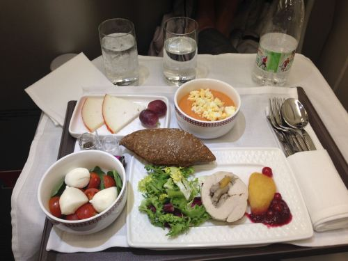 Iberia Flight Review A330-300 Business Class50