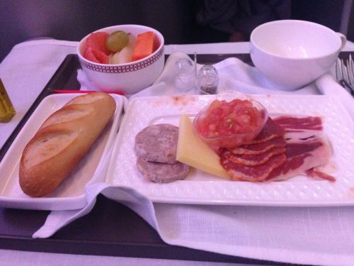 Iberia Flight Review A330-300 Business Class58