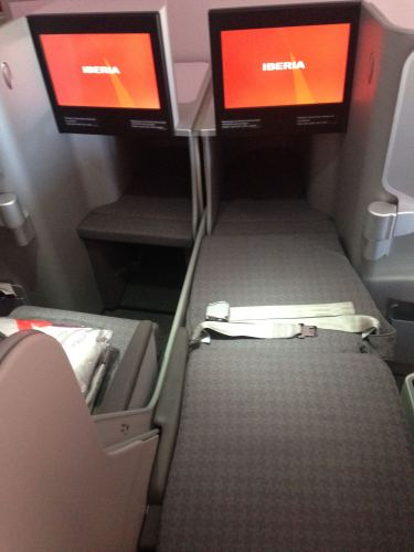 Iberia Flight Review A330-300 Business Class61