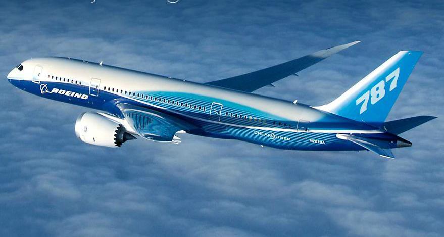 Resultado de imagem para boeing 787 dreamliner