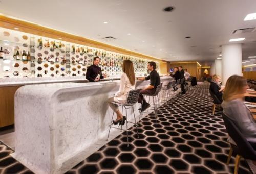 Qantas Lounge