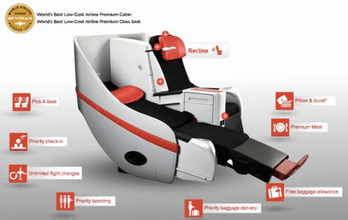AirAsia X Business Class