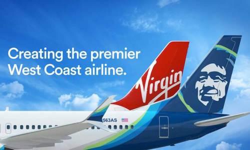Alaska Virgin Prem W Coast Airline