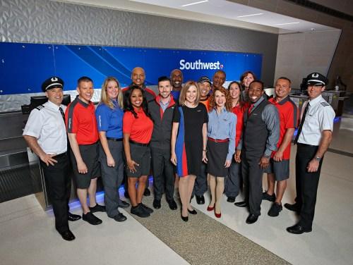 Southwest announces new Employee-designed uniforms