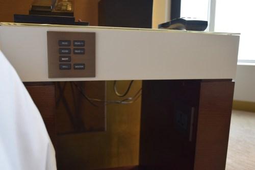 Grand Hyatt Taipei - Grand Suite Twin Night Stand Controls
