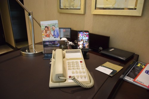 InterContinental Hong Kong Patio Room - Room Phone