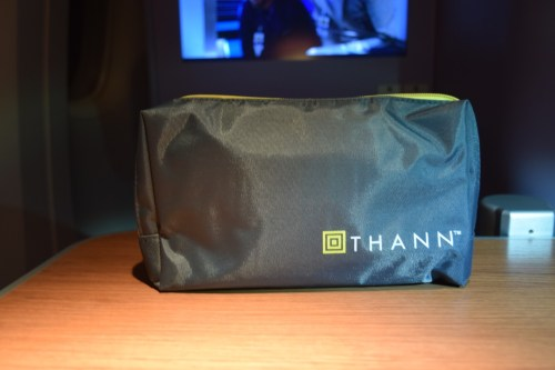 Thai Airways 777 Business Class amenity kit