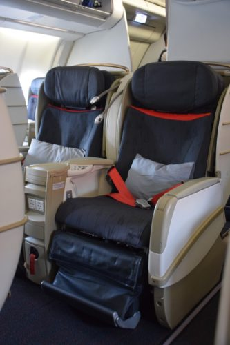 "Turkish Airlines ""Old"" Business Class Seat"