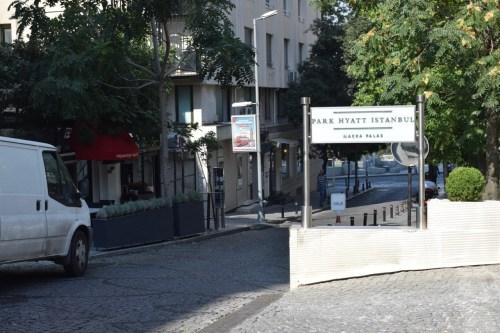 Park Hyatt Istanbul Entrance