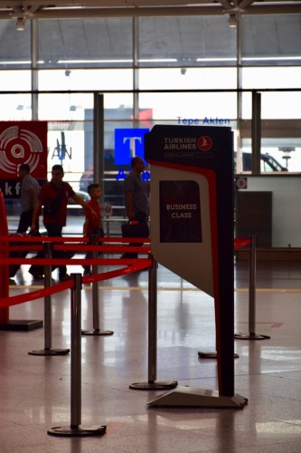 Turkish Airlines Business Class Check-in