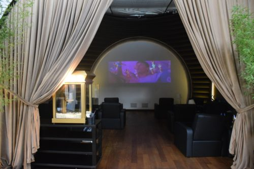 Turkish Airlines CIP Lounge - Movie Theater