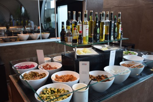 Turkish Airlines CIP Lounge - Cold Food Options