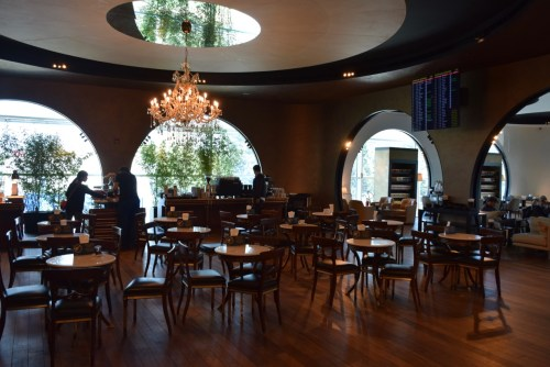 Turkish Airlines CIP Lounge - Cafe