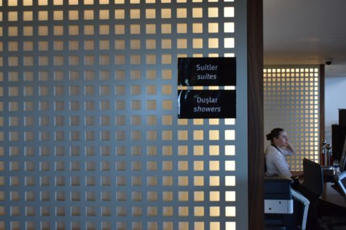 Turkish Airlines CIP Lounge - Day Suites and Showers