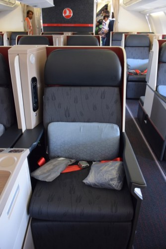 Turkish Airlines Business Class A330 - Seat