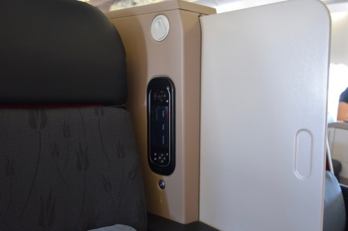 Turkish Airlines Business Class A330 - Privacy Shield + Remote