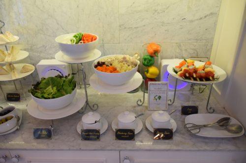 Coral Executive Lounge Bangkok-Don Mueang Cold Food Option