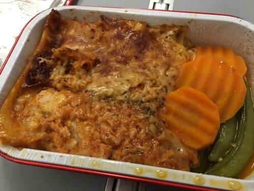 AirAsia Chiang Mai to Bangkok - Chicken Lasagna