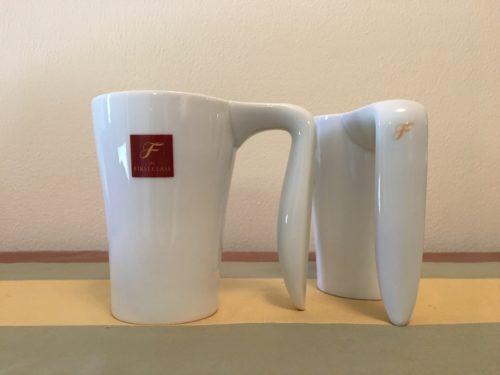 JAL First Class Mugs