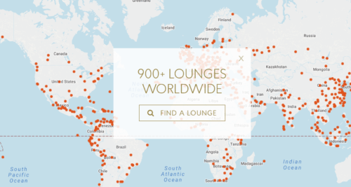 Chase Sapphire Reserve allows you to access 900+ lounges in the Priority Pass network!