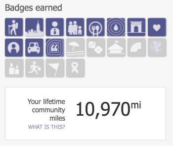 Earning Badges with Barclaycard Travel Community