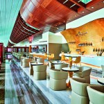 Renovated Emirates Business Class Lounge Dubai Concourse B Champagne Lounge