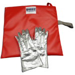 Fire containment bags for electronic devices