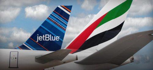 Emirates partners with JetBlue